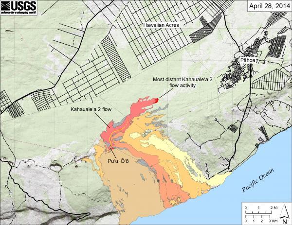 Kilauea 28 avril 01