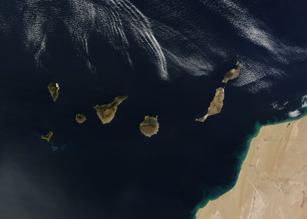 Canaries-satellite