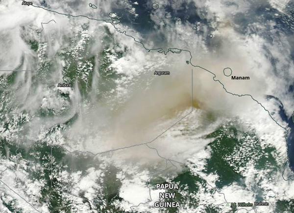 Manam NASA