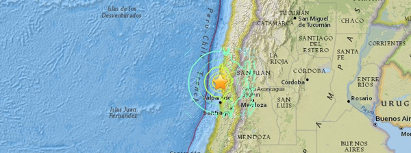 Chili quake