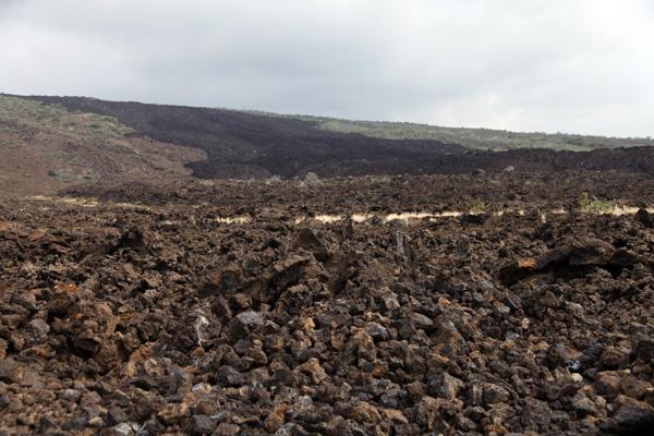 Mauna Loa coulee