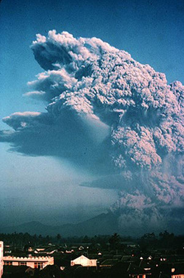 Galunggung eruption 1982