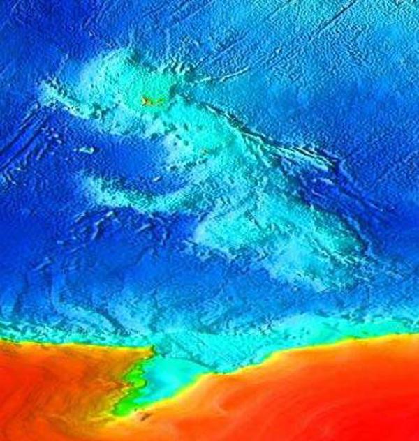 Kerguelen-Plateau-Topography