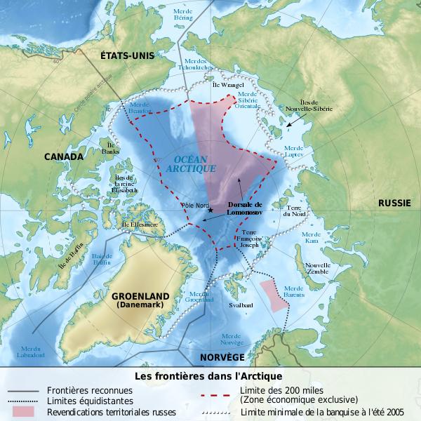 Frontières arctiques