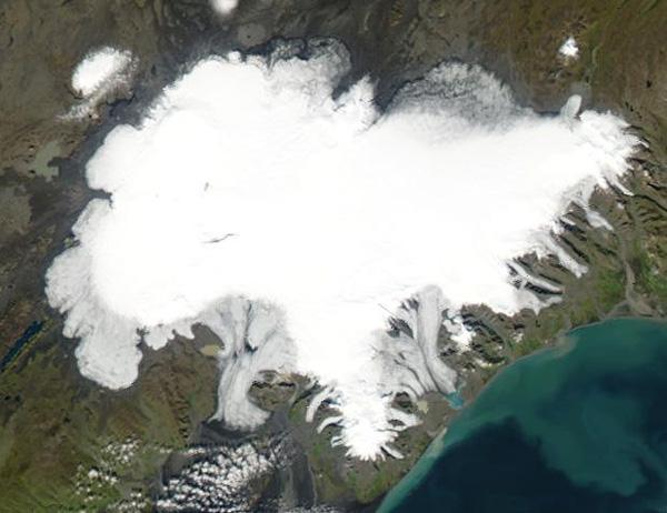 Vatnajökull espace
