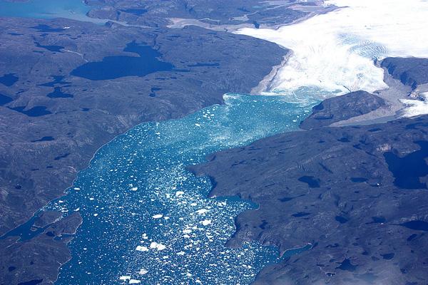 Groenland glacier