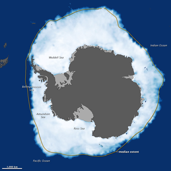 Antarctic sea ice 2012