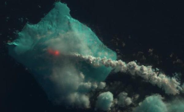 bristol island volcano