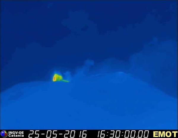 Etna thermique 25 mai
