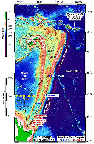 Tonga Kermadec Arc